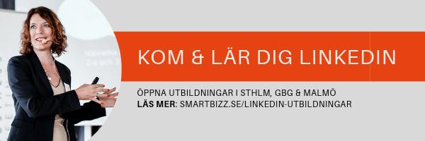 LinkedIn utbildning företag
