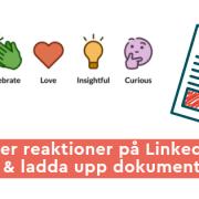 reaktioner dokument linkedin