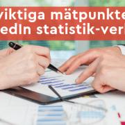 LinkedIn statistik