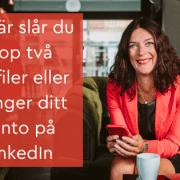 två profiler konto LinkedIn