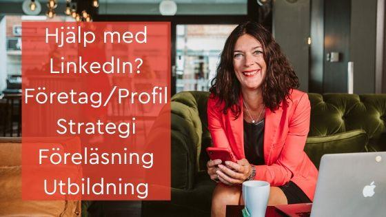 linkedin profil strategi företag