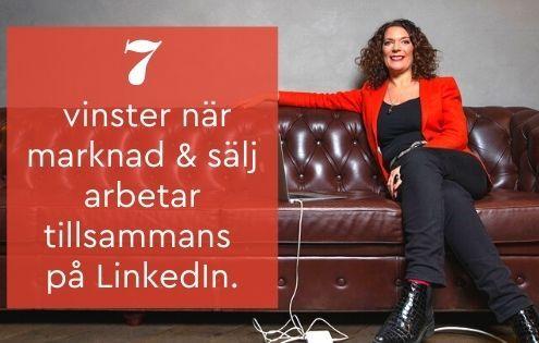 marknad sälj LinkedIn