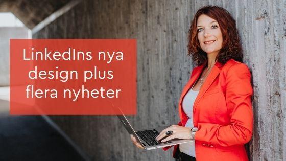 LinkedIn design stories nyheter