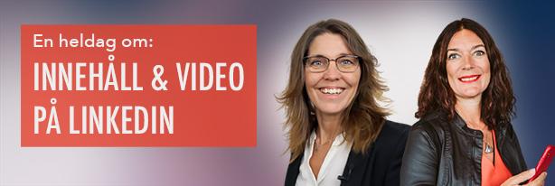 innehåll video LinkedIn