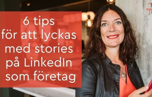 stories LinkedIn företag