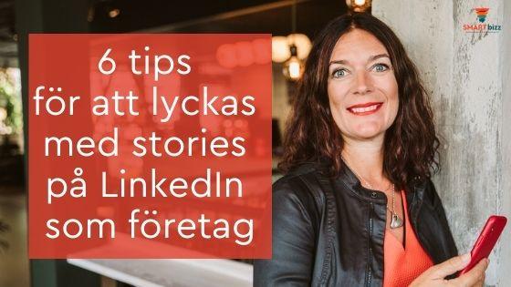 stories LinkedIn företag