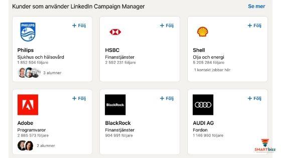 intyg företagssidor linkedin