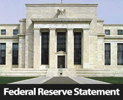 FOMC Statement Quantitative Easing Tapered by 10 Billion