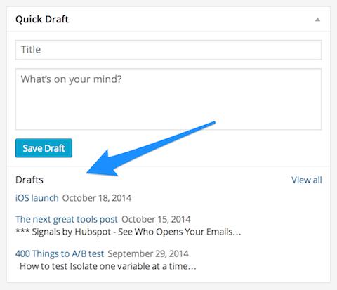 list-drafts