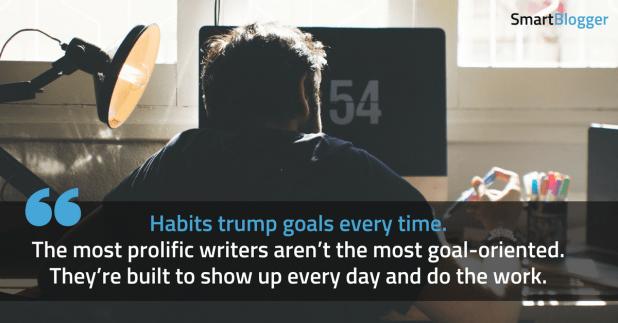 habits trump goals
