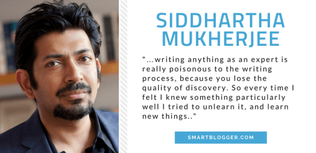 Siddhartha Mukherjee - Writing Tips