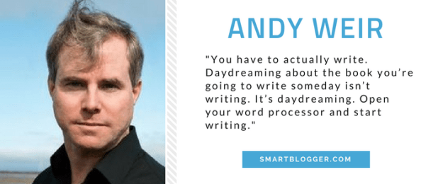 Andy Weir - Writing Tips