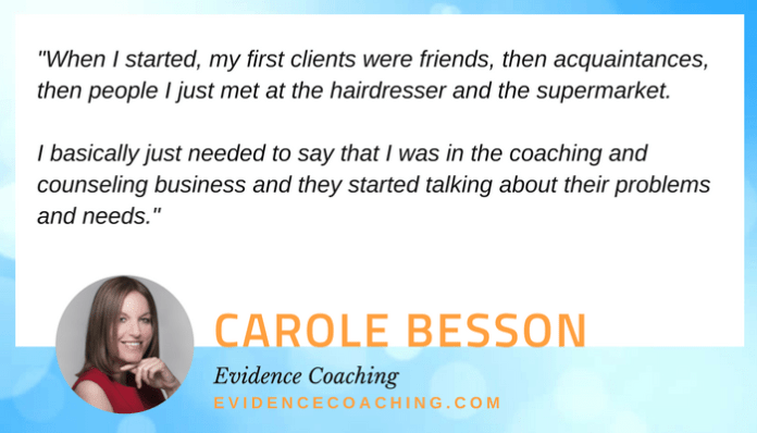 Carole Besson quote