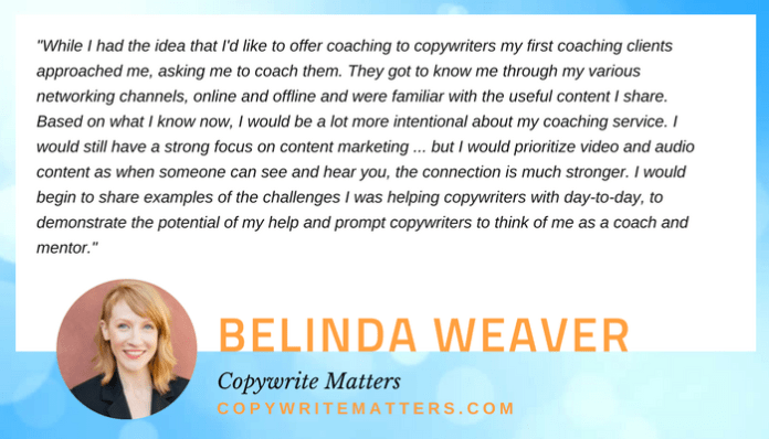 Belinda Weaver quote