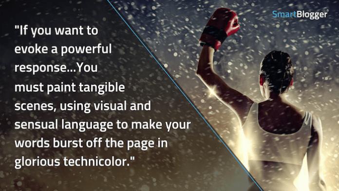 writing that evokes a powerful response