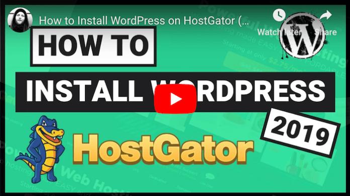 HostGator WordPress Tutorial