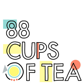 Writing Podcasts: 88 Cups of Tea