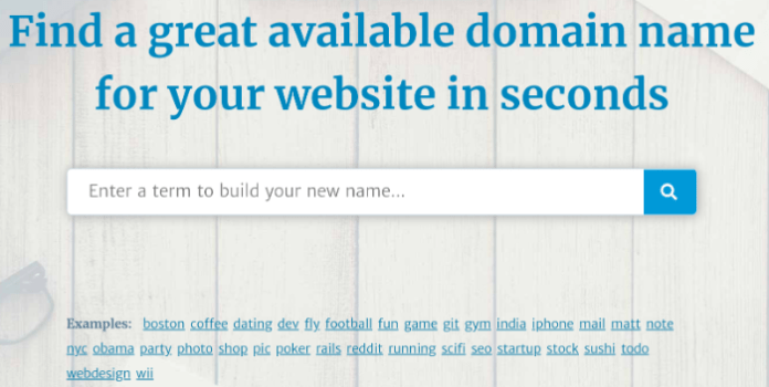 blog name generator lean domain search