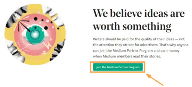 medium partner program join partner program