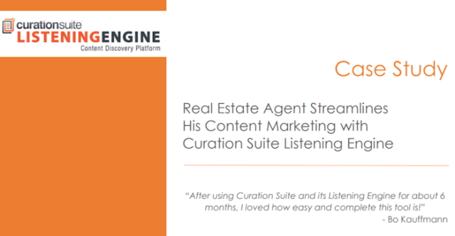 case study example curationsuite listening engine