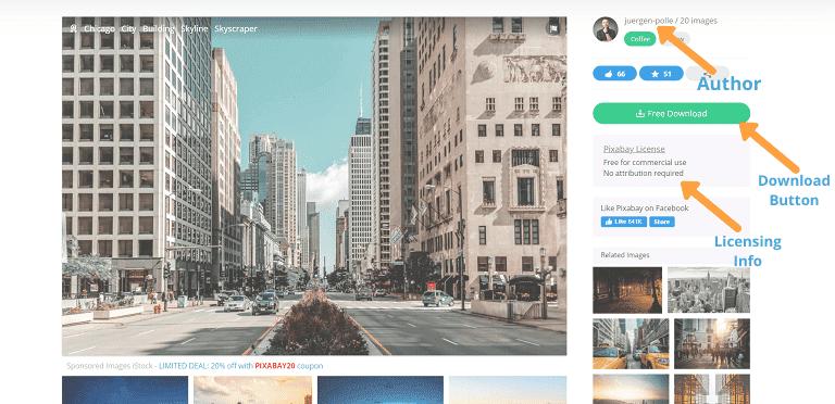 stock photo sites pixabay layout