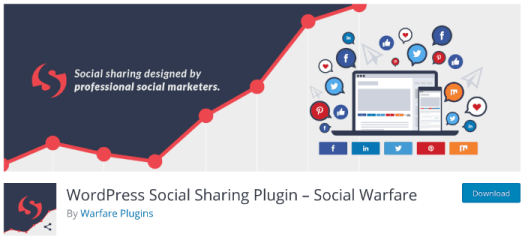 Social Warfare Plugin