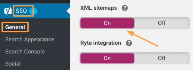 Yoast SEO Plugin - XML Sitemap 1