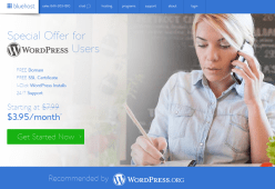 BlueHost Special offer for WordPress Users