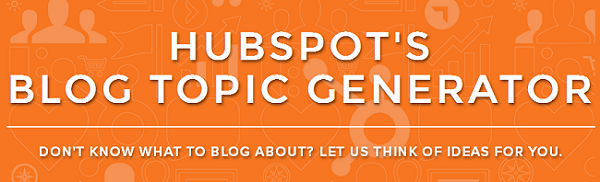 HubSpots Blog Topic Generator