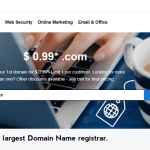How to Register a Domain Name with GoDaddy → .COM for $0.99