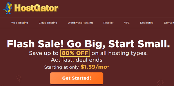 Hostgator Black Friday Sale