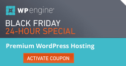 WPEngine Black Friday and Cyber Monday Sale