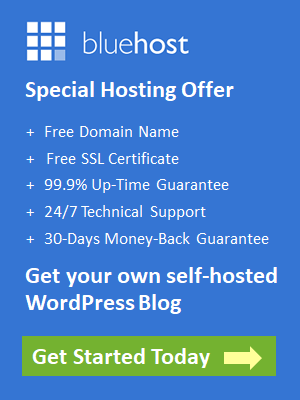 BlueHost Special Hosting Discount