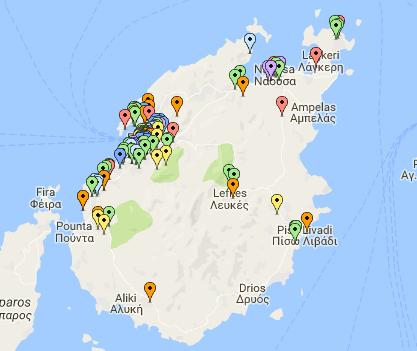 Πάρος 2016 Airbnb καταχωρησεις
