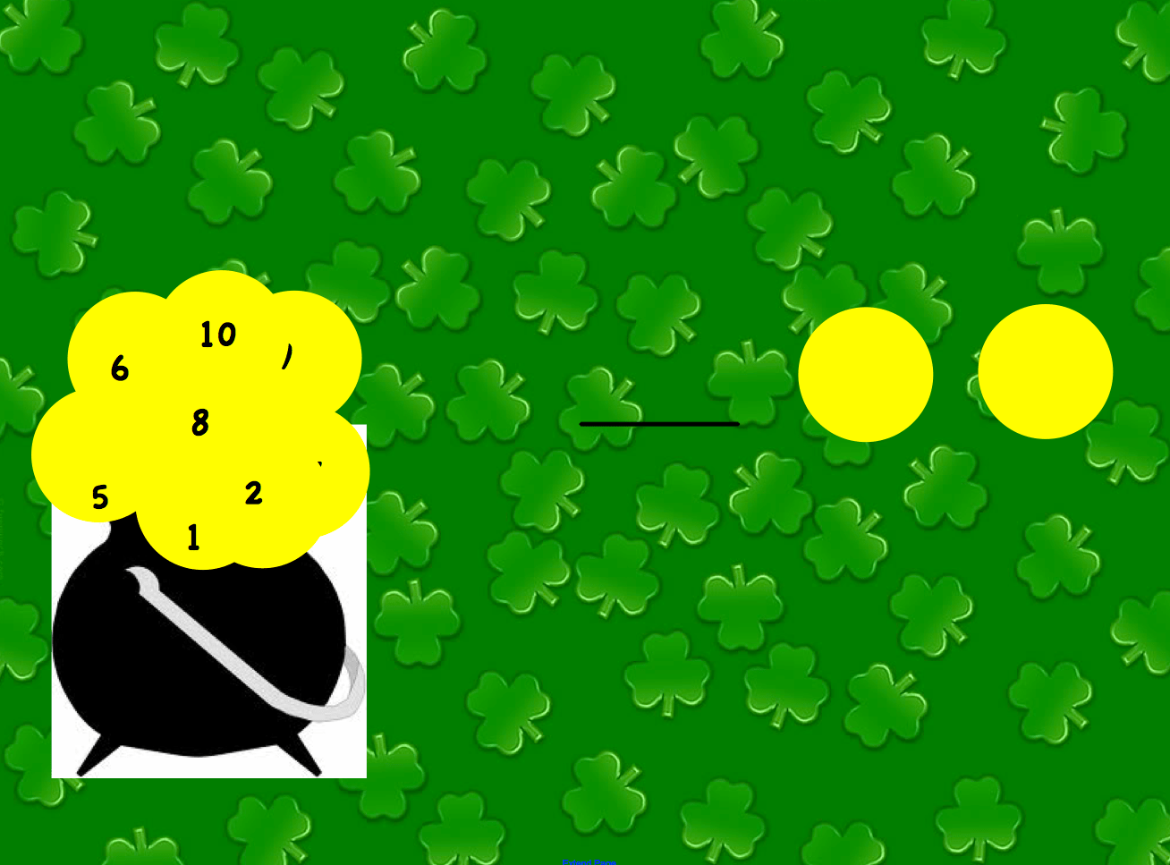 What Number Comes First St Patrick S Day Smart Notebook