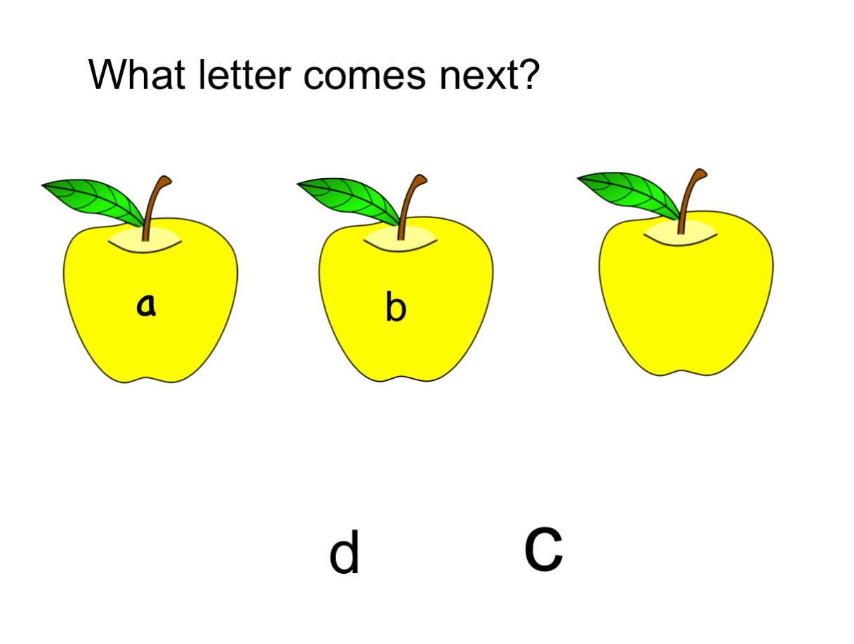 What Letter Comes Next Smart Notebook Smart Board Ideas