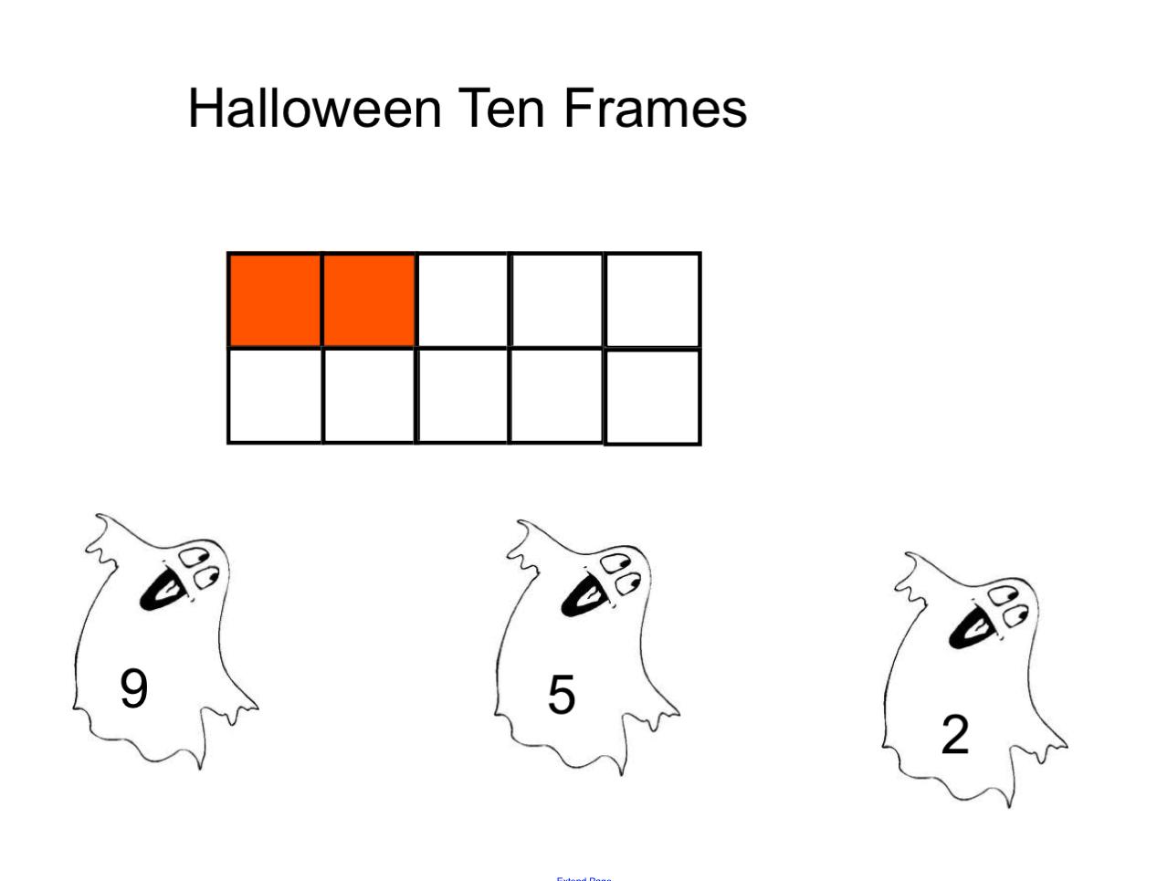 Halloween Ten Frames Smart Notebook More Smart Board
