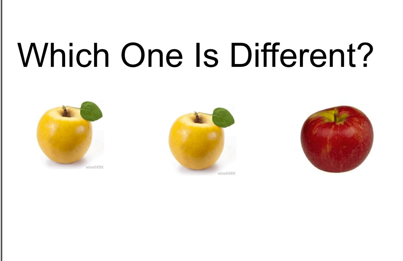 Which Apple Is Different Smart Notebook Smart Board Ideas