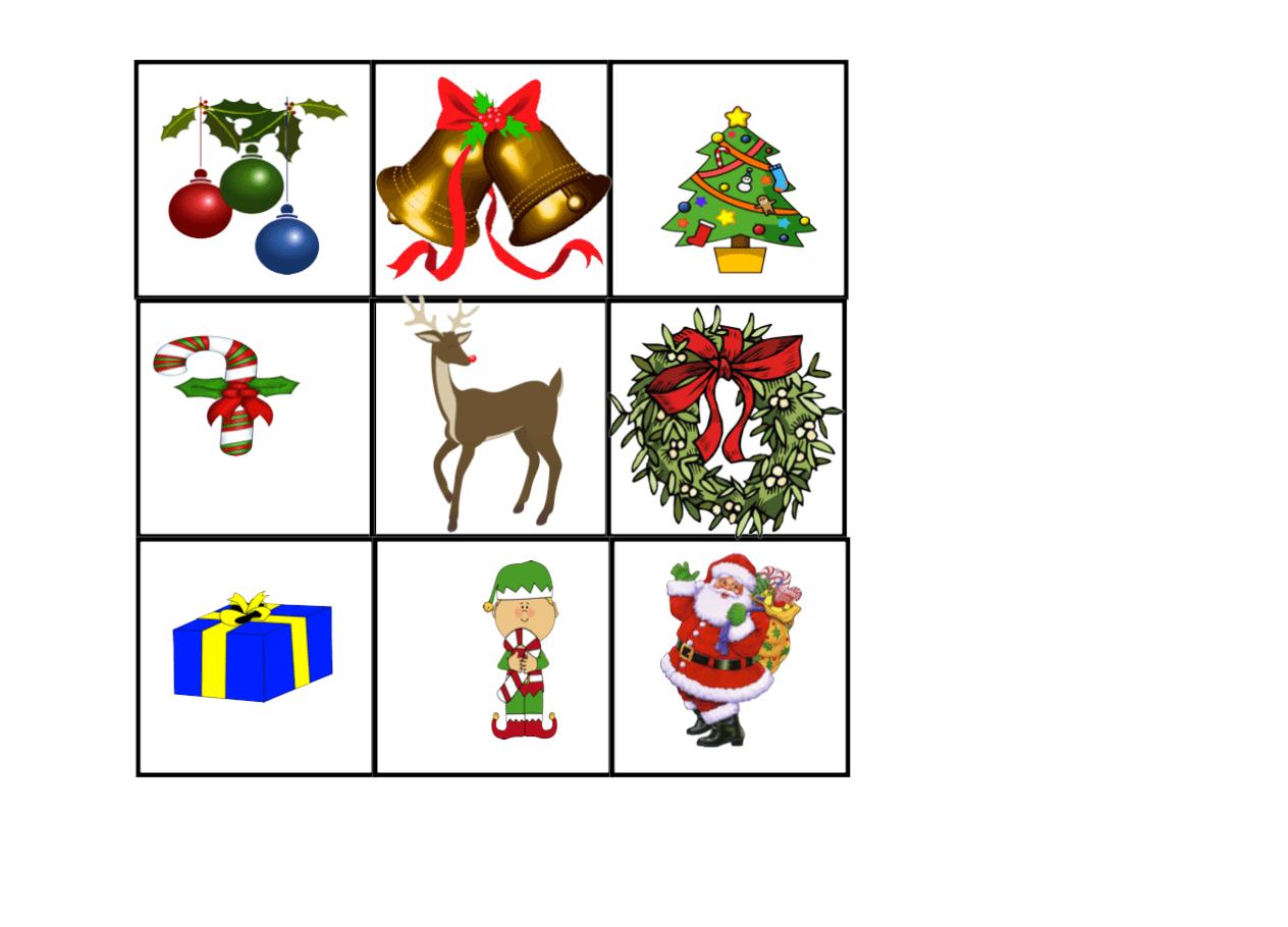 Christmas Bingo Smart Notebook Smart Board Ideas