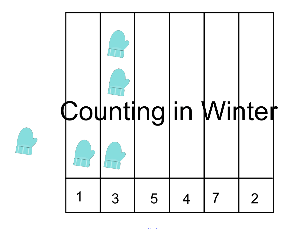 Counting In Winter Smart Notebook Smart Board Ideas