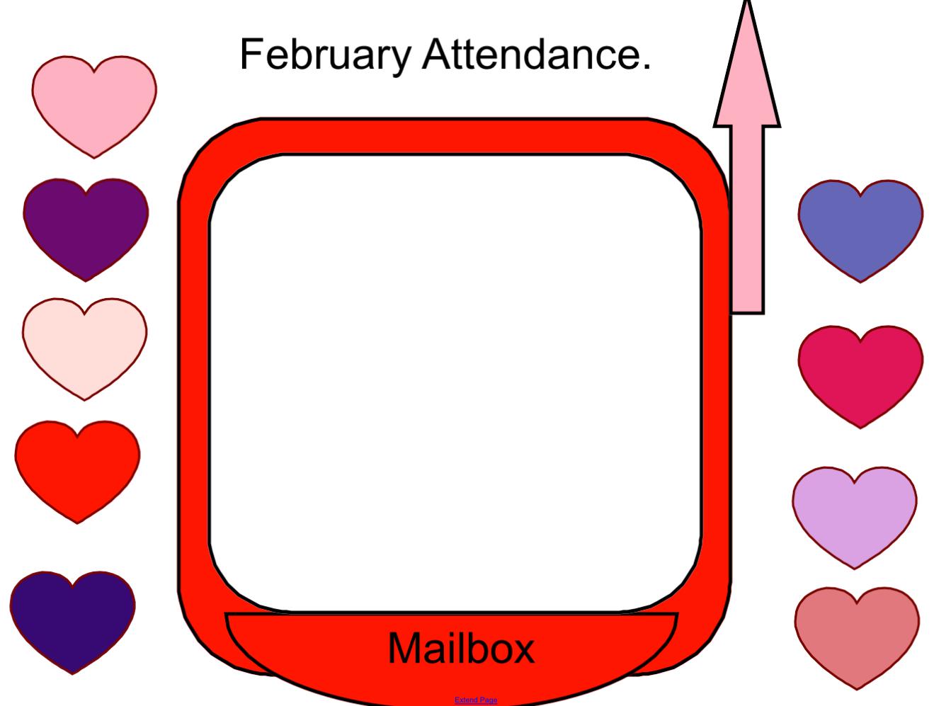 February Attendance Smart Notebook Smart Board Ideas