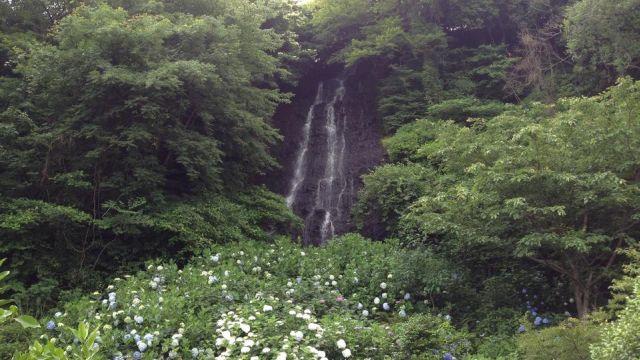 白糸の滝(別府 ) Shiraito Falls