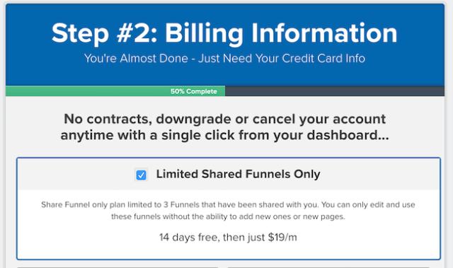 $ 19 / mese Condividi piano di canalizzazione