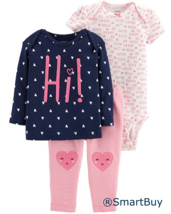 3-Piece Little Character Set-1