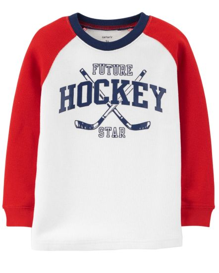 Hockey Thermal Tee