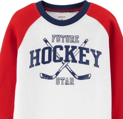 Hockey Thermal Tee1