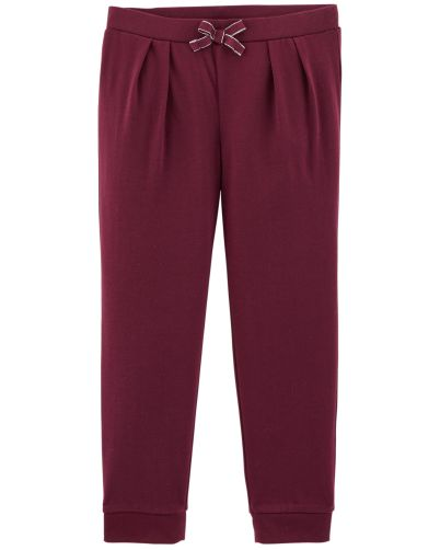 Pull-On Jersey Joggers Vino