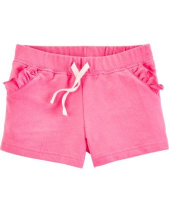 Ruffle French Terry Shorts1