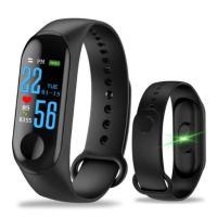 Αδιάβροχο Ρολόι Smart Watch Άθλησης Με Καταγραφή Βημάτων, Ύπνου & Καρδιακών Παλμών M3