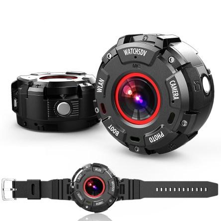 Αδιάβροχη Μαγνητική Action Camera Υψηλής Ανάλυσης Full HD 1080P 8MP WiFi με Αποσπώμενο Λουράκι Χεριού